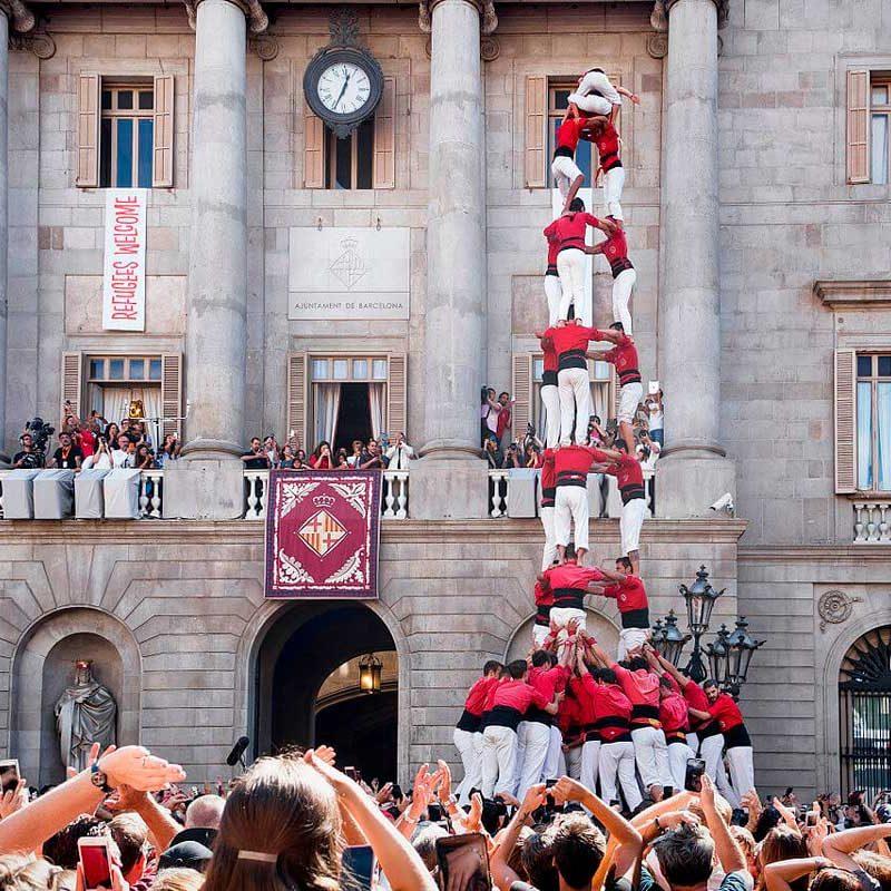 Castellers St Jaume